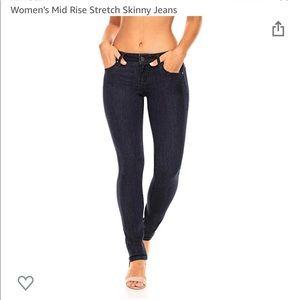 Earl Jeans Women's Skinny Dark Wash Jeans